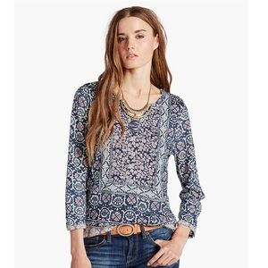 Lucky Brand Placed Scarf Tunic
